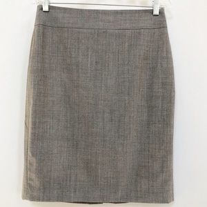 Banana Republic wool blend pencil skirt 6